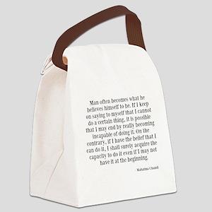 Belief Canvas Lunch Bag