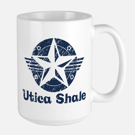 Utica Shale Pro-Fracking Large Mug