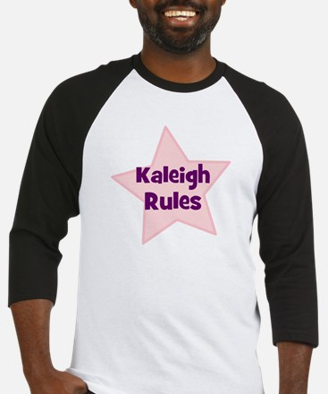 Kaleigh Rules Baseball Jersey
