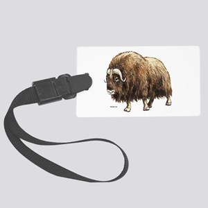 Musk Ox Large Luggage Tag