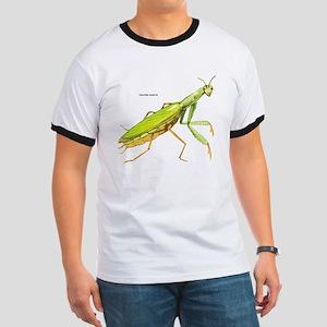 Praying Mantis Insect Ringer T