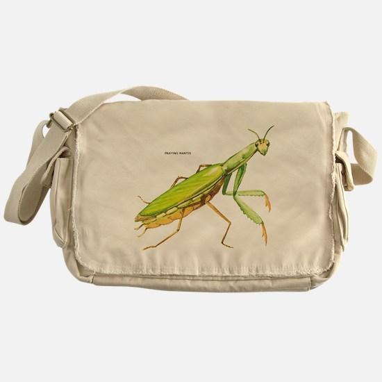Praying Mantis Insect Messenger Bag