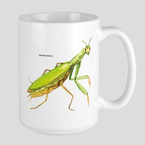 Praying Mantis Insect Large Mug