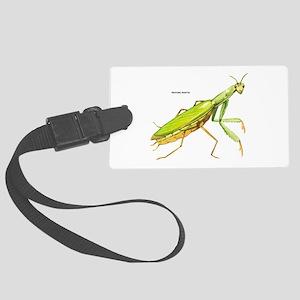 Praying Mantis Insect Large Luggage Tag