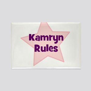 Kamryn Rules Rectangle Magnet