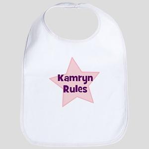 Kamryn Rules Bib