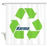 Karma Symbol Shower Curtain