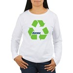 Karma Symbol Long Sleeve T-Shirt