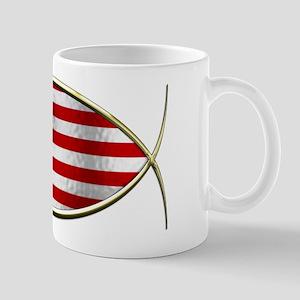 Ichthus - American Flag Mug