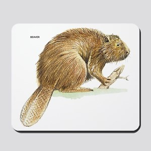 Beaver Animal Mousepad