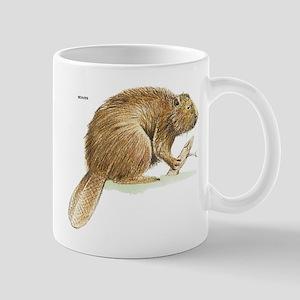Beaver Animal Mug