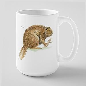 Beaver Animal Large Mug
