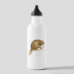 Beaver Animal Stainless Water Bottle 1.0L