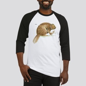 Beaver Animal Baseball Jersey