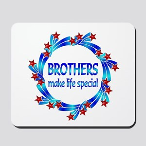 Brothers are Special Mousepad