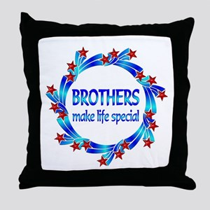 Brothers are Special Throw Pillow