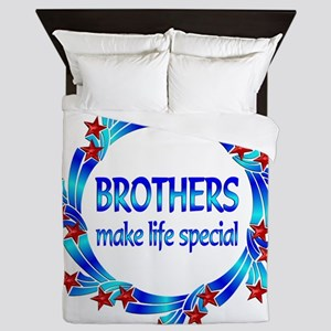 Brothers are Special Queen Duvet