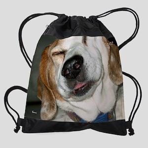 aprilrescuedog Drawstring Bag