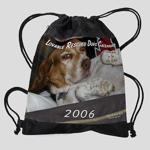 coverrescuedog Drawstring Bag