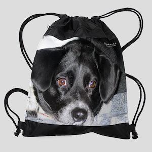 marchrescuedog Drawstring Bag