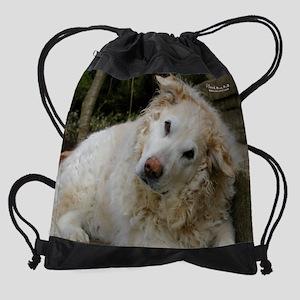 sep2rescuedog Drawstring Bag