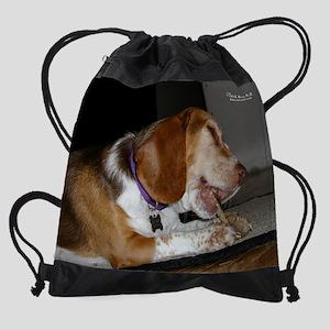 sep3rescuedog Drawstring Bag