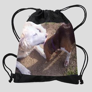 sep4rescuedog Drawstring Bag