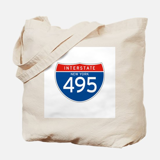 Interstate 495 - NY Tote Bag