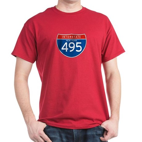 Interstate 495 - NY Dark T-Shirt