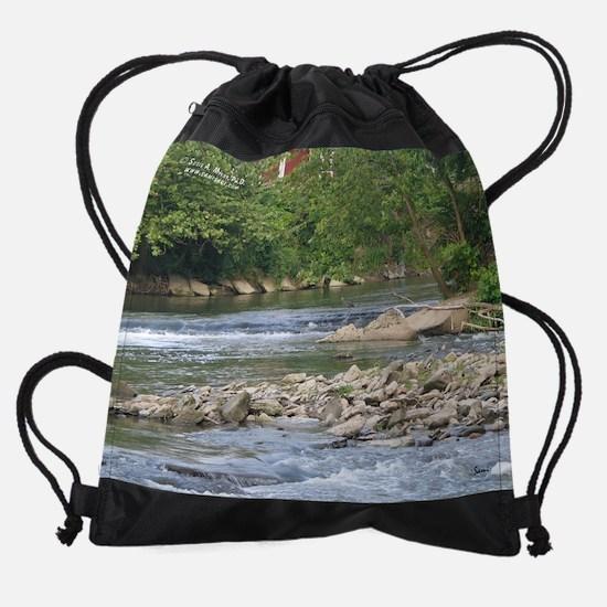 augw&nature.png Drawstring Bag