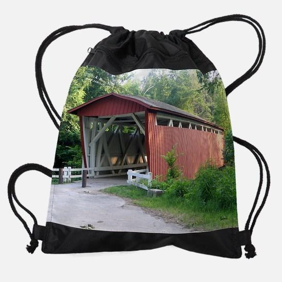junew&nature.png Drawstring Bag