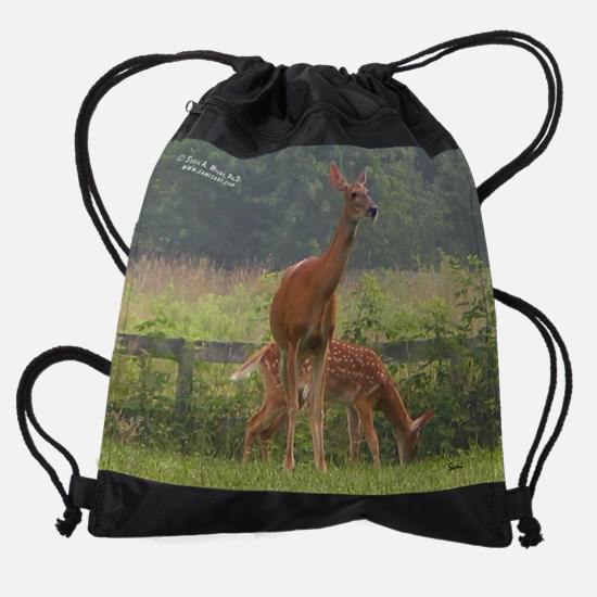 marchw&nature.png Drawstring Bag