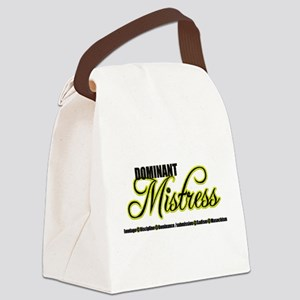 Dominant Mistress Title Canvas Lunch Bag