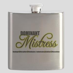 Dominant Mistress Title Flask