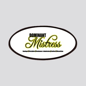 Dominant Mistress Title Patches