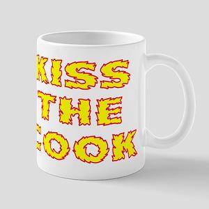 Kiss The Cook Flames Mug