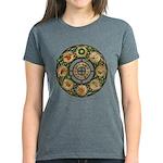 Celtic Wheel of the Year Women's Dark T-Shirt