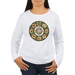Celtic Wheel of the Year Women's Long Sleeve T-Shi