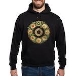 Celtic Wheel of the Year Hoodie (dark)
