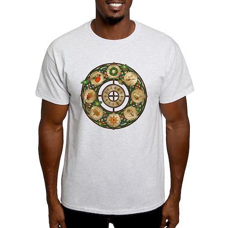 Celtic Wheel of the Year Light T-Shirt