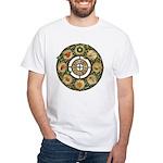 Celtic Wheel of the Year White T-Shirt