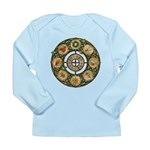 Celtic Wheel of the Year Long Sleeve Infant T-Shir