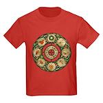 Celtic Wheel of the Year Kids Dark T-Shirt