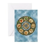 Celtic Wheel of the Year Greeting Cards (Pk of 10)
