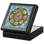 Celtic Wheel of the Year Keepsake Box