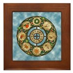 Celtic Wheel of the Year Framed Tile