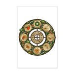 Celtic Wheel of the Year Mini Poster Print