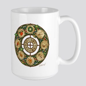 Celtic Wheel of the Year Large Mug