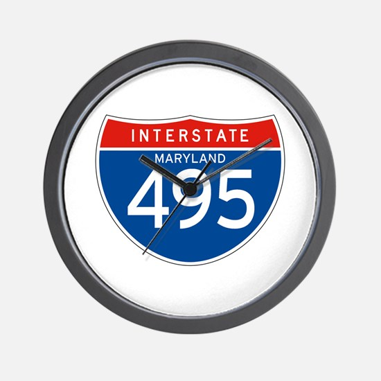 Interstate 495 - MD Wall Clock