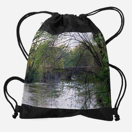 bridge.png Drawstring Bag